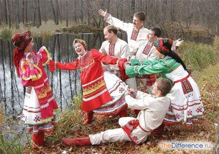 отличие белорусов от русских