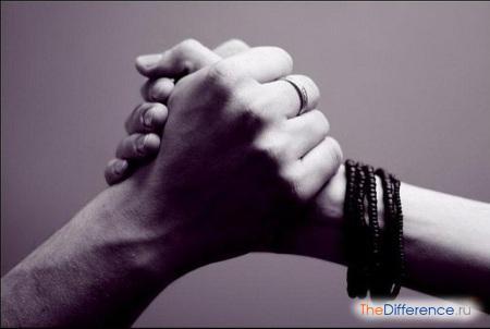 отличие любви от дружбы
