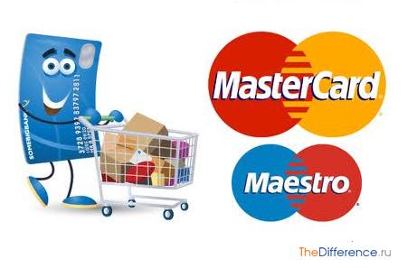 отличие Mastercard от Maestro