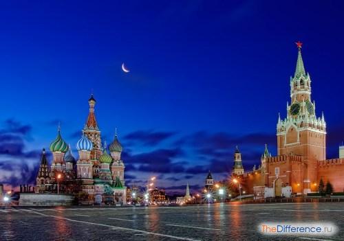 отличие Питера от Москвы