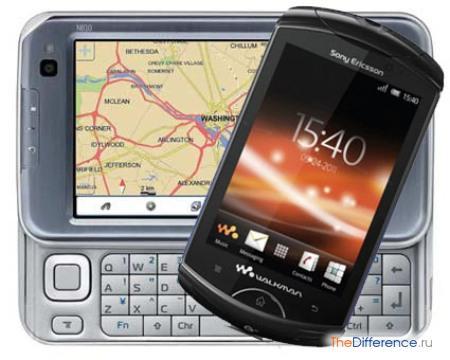 отличие смартфона от коммуникатора