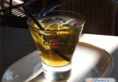 Разница между вермутом и мартини
