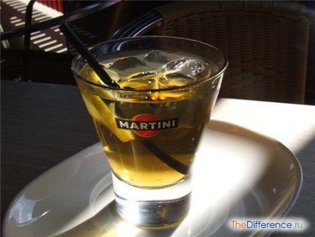 отличие вермута от мартини