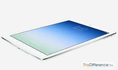 отличие iPad Air от iPad 4