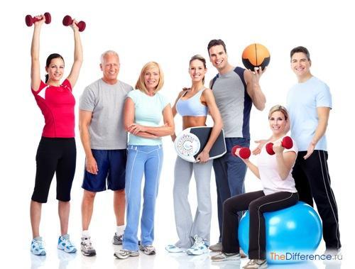 отличие физкультуры от спорта