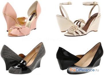 как выбрать туфли для женщины