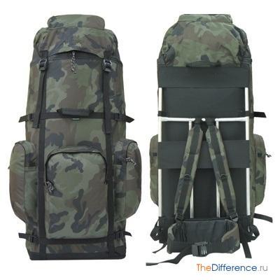 Станковый туристический рюкзак