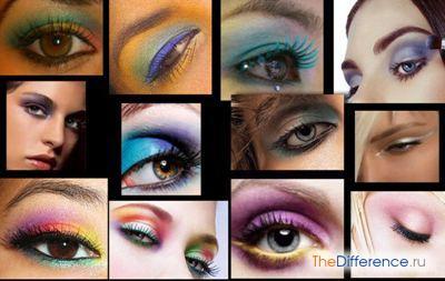 Как правильно красить глаза
