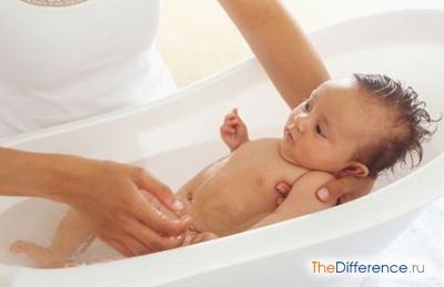 Как купать новорожденного ребенка