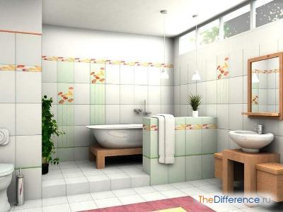 Открытая ванна