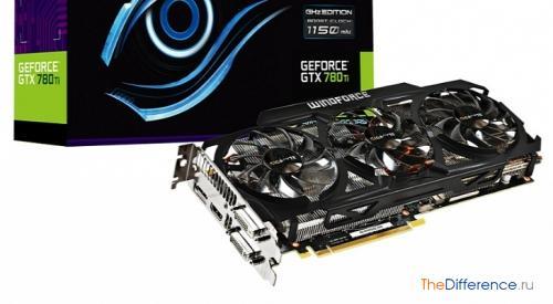 Видеокарта Gigabyte GeForce GTX 780 Ti GHz Edition