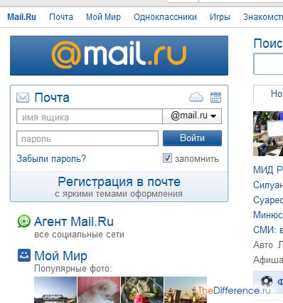 Отправить фото по электронной почте