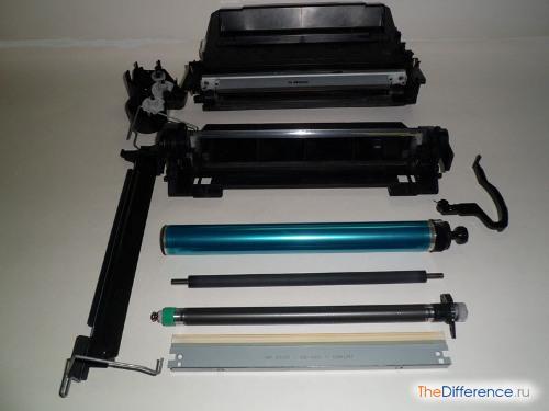 Заправить картридж лазерного принтера самому