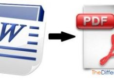 Как перевести Word в PDF?