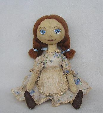 сделать тряпичную куклу своими руками