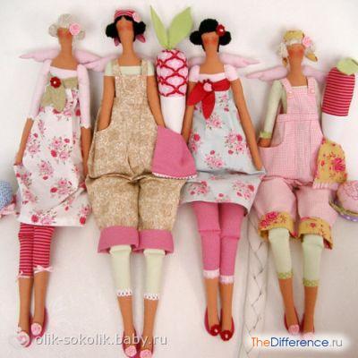 Совет! Чтобы нога у куклы не смотрелась «ластой сделайте 4 небольших