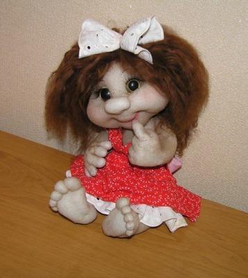Куклы своими руками из чулков фото