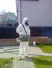 Специалист по борьбе с насекомыми