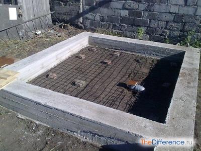 Как построить баню из блоков самому