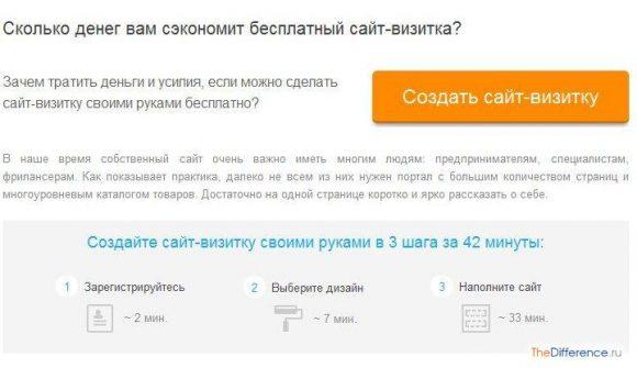 Как сделать сайт визитку самому бесплатно wordpress