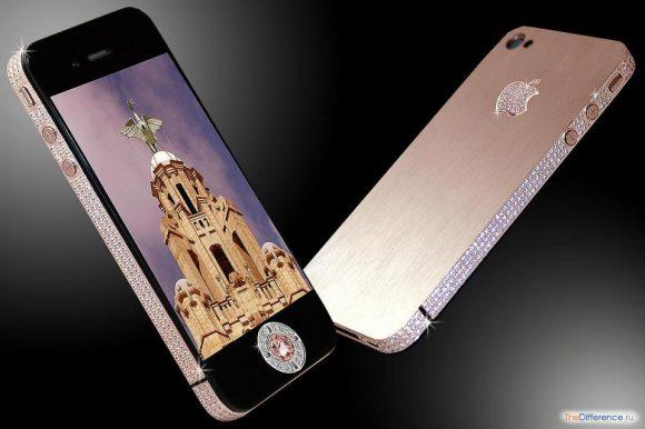 самый дорогой в мире мобильный телефон фото