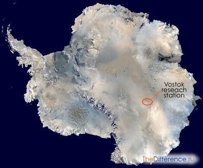 Самая низкая температура на Земле