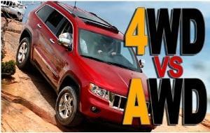 Чем отличается 4WD от AWD