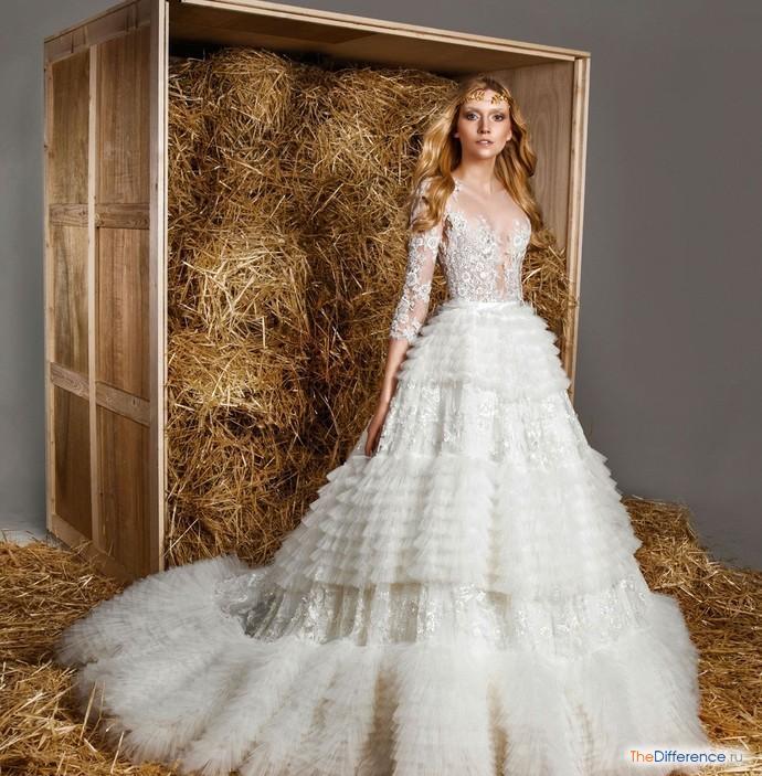 9555f3a9222 Самые пышные свадебные платья – история и современность