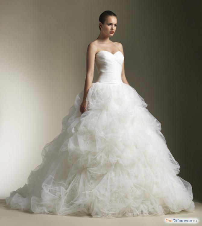 Свадебные пышные платья