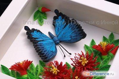 Как сделать бабочку квиллинг фото 779