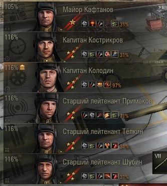 Как пересадить экипаж в World of Tanks
