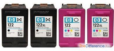 Как заправить картриджи для принтера hp 122