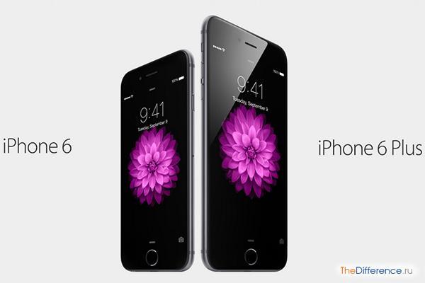 чем отличается iPhone 6 от iPhone 5S и 5