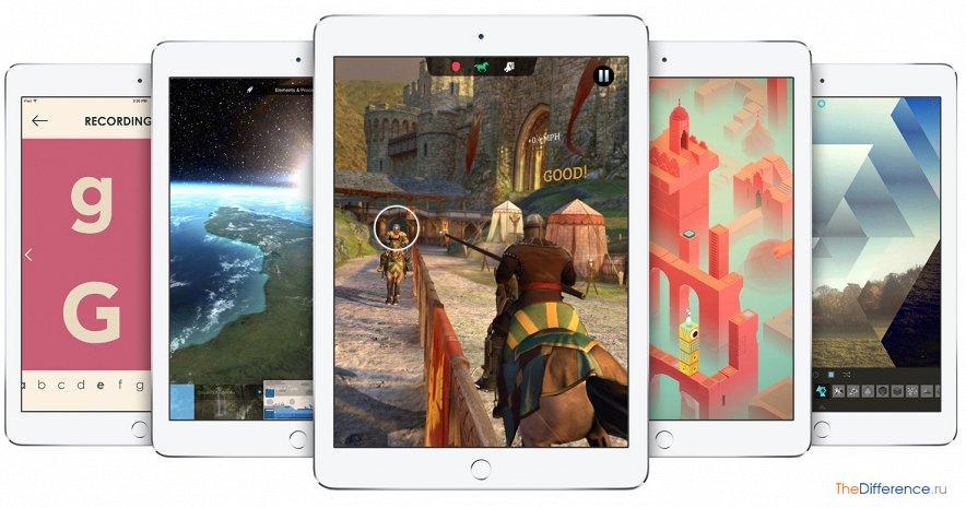 Чем отличается iPad Air от iPad Air 2