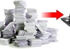 Как отсканировать документ?