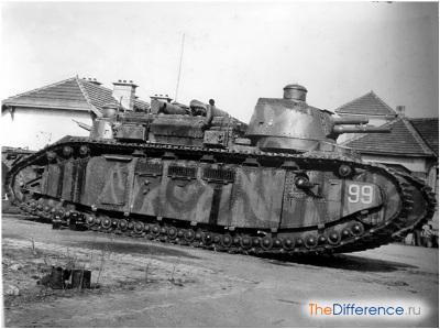 самый большой в мире танк