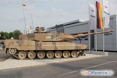 самый большой современный танк в мире