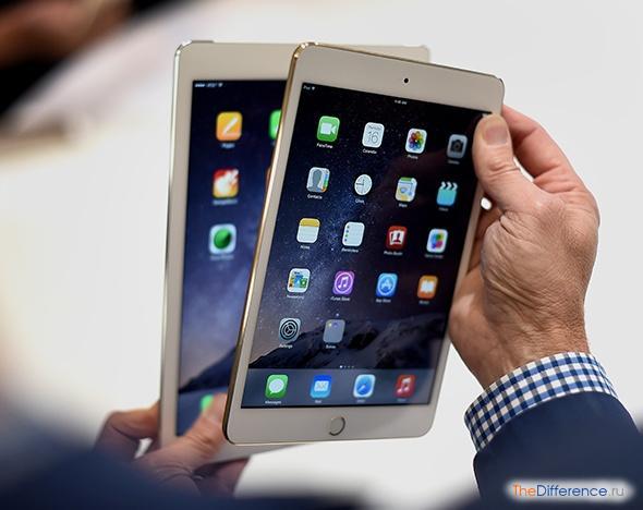 Чем отличается iPad mini 2 от iPad mini 3