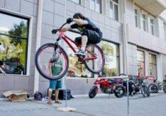 Как прыгать на велосипеде?