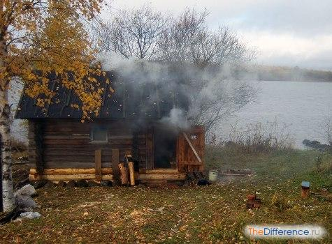 почему дымит печь в бане, почему в бане дымит печь