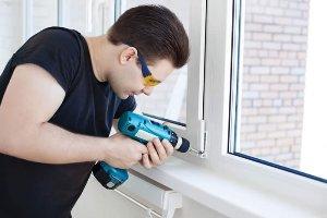 Как разобрать пластиковое окно