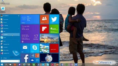 разница между Windows 10 и Windows 7