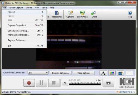 записать видео с веб-камеры онлайн