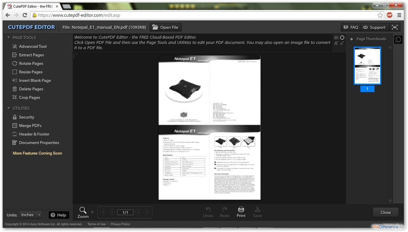 Как отсканировать в формате pdf
