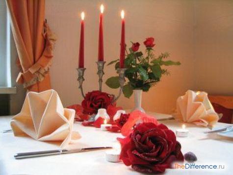 Как приготовить романтический ужин