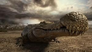 Самый большой в мире крокодил