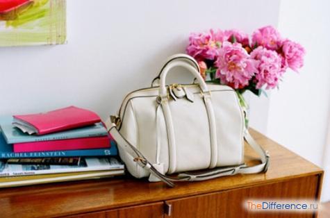 как почистить белую кожаную сумку