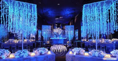 украсить зал на свадьбу