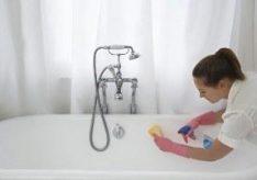 Как отмыть ванну?