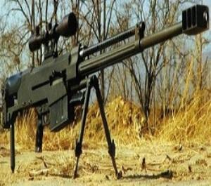 Самая мощная снайперская винтовка в мире